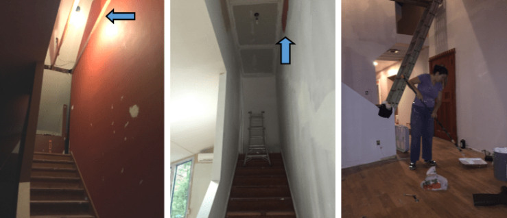 reframing stairwell